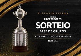 Sorteio dos grupos da Taça Libertadores