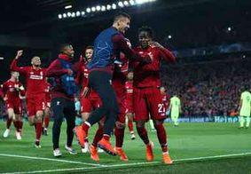 Virada do Liverpool entra para a lista de maiores da Champions, confira