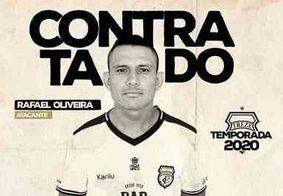 Treze anuncia retorno do atacante Rafael Oliveira ao clube; veja