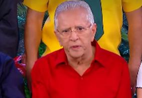 Carlos Alberto de Nóbrega 'ameaça' despedir filho após problema de saúde