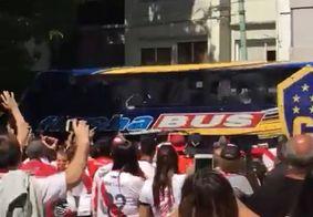 Final da Libertadores é adiada após apedrejamento de ônibus do Boca Juniors