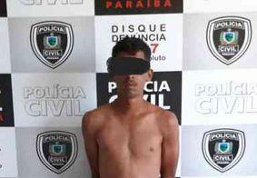 Jovem é preso acusado de manter motorista de aplicativo refém, em João Pessoa