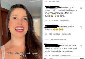 Juliette recebe críticas de internautas paraibanos após alugar casa do RJ
