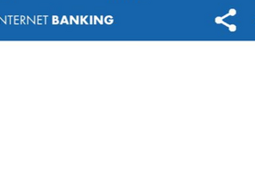 Tela do internet banking