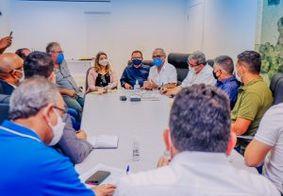 Reunião de líderes religiosos com Cícero Lucena