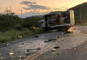 Colisão entre caminhão e viatura mata policial rodoviário federal no RN