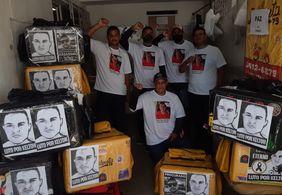 Motoboys pedem justiça para Kelton Marques em novo protesto