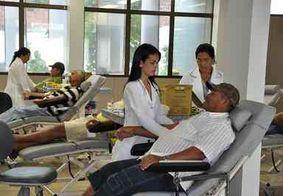 Com estoque baixo, Hemocentro de João Pessoa convoca doadores e voluntários