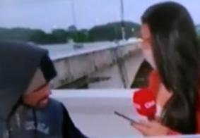 Preso suspeito de assaltar repórter da CNN Brasil durante transmissão ao vivo