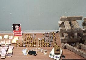 Material apreendido foi encaminhado à Central de Polícia de Campina Grande