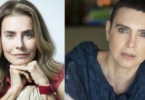 Maitê Proença desconversa sobre suposto romance com Adriana Calcanhotto