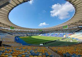 Maracanã pronto para a final da Copa América
