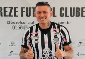 Rafael Oliveira é apresentado oficialmente no Treze