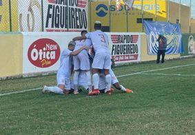 Dino venceu o Caucaia por 7 a 0