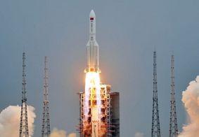 Fragmentos de foguete chinês podem cair no Brasil; saiba quais as chances