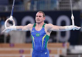 Brasil ficou fora da disputa por equipes na ginástica