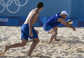 Segunda vitória da dupla brasileira garantiu vaga nas oitavas