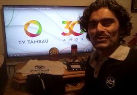 Jailson é paraibano, fã do SBT e da TV Tambaú