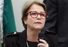 """Vídeo: Ministra da Agricultura diz que brasileiro """"não passa muita fome porque tem manga nas cidades"""""""