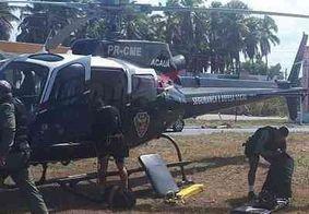 Criança é socorrida de helicóptero após se afogar em praia de Tabatinga, no Litoral Sul paraibano