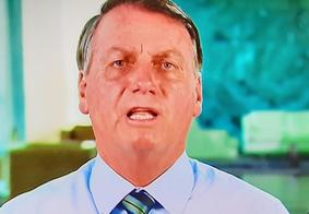 Pronunciamento do presidente Jair Bolsonaro
