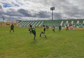 Marizão, em Sousa. Time da casa realizou último treino antes da decisão