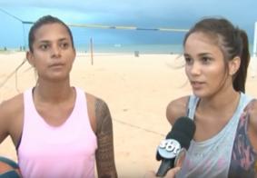 Atletas fazem campanha para arrecadar recursos e disputar campeonato brasileiro de futevôlei