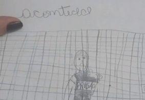 Idoso é preso na PB após neta denunciar estupros através de desenhos na escola