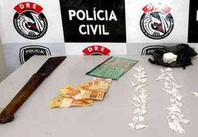 Polícia prende homem em flagrante e desarticula 'boca de fumo' em Campina Grande