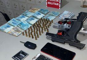 Os pertences das vítimas foram recuperados pela PM