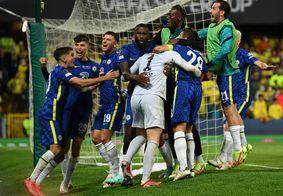 Com transmissão do SBT, Chelsea vence Villarreal e conquista Supercopa