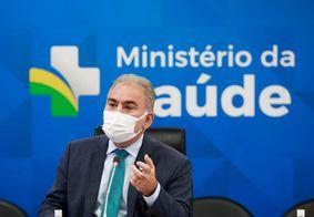 Ministro da Saúde, Marcelo Queiroga.