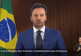 Ministro Fábio Faria defende privatização dos Correios em pronunciamento