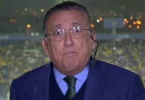 Galvão Bueno renova contrato com a TV Globo sem confirmação de que narrará; entenda