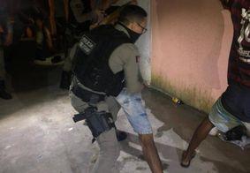 PM encerra festa e apreende carro com 'paredão' em Santa Rita
