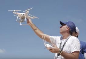 Vídeo: Drone não é brinquedo