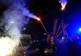 Fogos deixam cerca de 200 feridos no Ano Novo nas Filipinas