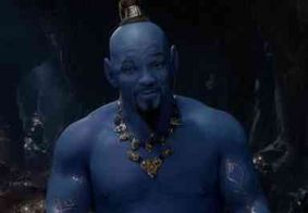 Novo trailer de 'Aladdin' mostra Will Smith pela 1ª  vez como Gênio da Lâmpada na cor azul