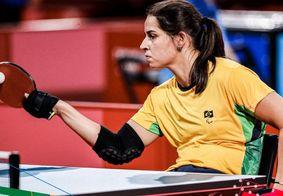 Cátia Oliveira conquista Bonze na paralimpíada de Tóquio