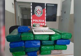 PM prende homem com 19 kg de drogas no Sertão da PB
