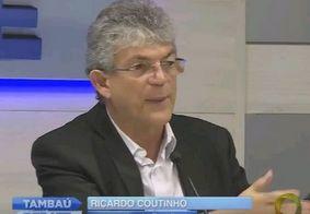 """Ex-governador Ricardo Coutinho é réu na ação dos """"codificados"""""""