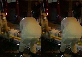 Explosão de botijão de gás deixa um ferido na Zona Sul de João Pessoa