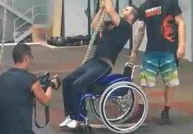 Brasileiro que ficou paraplégico após assalto impressiona no crossfit