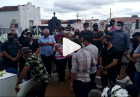 Corpo de Gael é enterrado na Paraíba