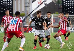 Ceará e Náutico jogaram em São Januário
