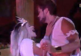 BBB 18: Breno fica com Jaqueline na frente de Ana Clara em festa