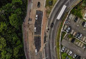 Avenida Dom Pedro II, em João Pessoa, é liberada para veículos