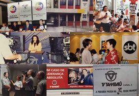 Linha do tempo: relembre a trajetória da TV Tambaú de 1991 a 2021