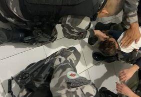 PM salva bebê de 1 ano de sufocamento, na Paraíba