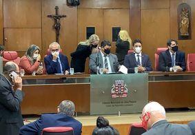 Vereadores retomam sessões presenciais; veja o discurso do prefeito